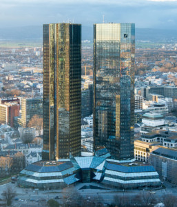 Frankfurt Deutsche Bank Twin Towers -Source: Wikipedia